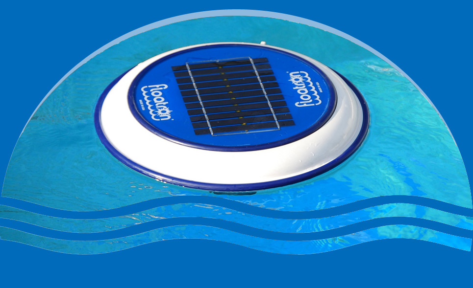 Solar Powered Pool Purifier, Swimming Pool Ionizer